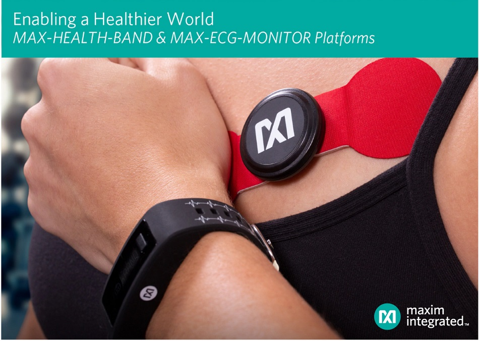 Maxim Integrated introduces wearable platforms for health and fitness applications-SemiMedia